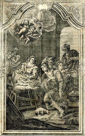 Kūdikėlio Jėzaus pasveikinimas