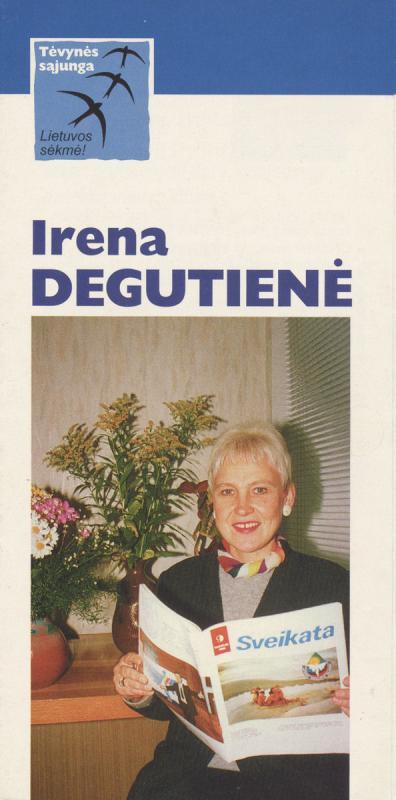 Irena Degutienė. Lietuvos konservatoriai
