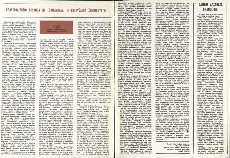 Mūsų gamta. 1972, Nr. 5, p. 7–8