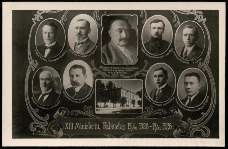 XIII Ministerių Kabinetas 1926 m. birželio 15 – gruodžio 17 d.