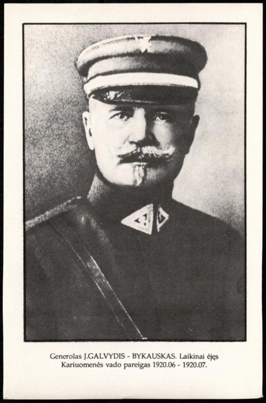 Plk. Jonas Galvydis-Bykauskas (1864–1942)