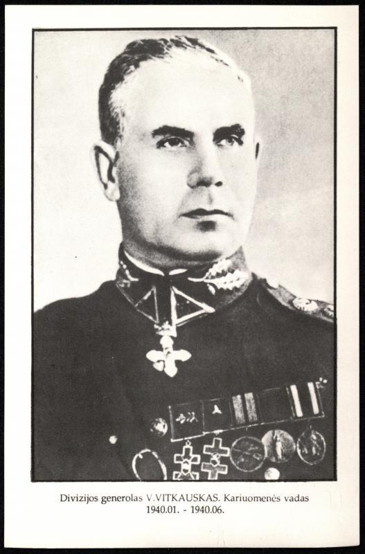 Div. gen. Vincas Vitkauskas (1890–1965)