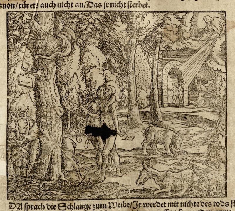 Biblia, das ist die gantze heilige Schrifft Deudsch auffs new zugericht. D. Mart. Luth. Zu Wittemberg: durch Hans Lufft, 1545.
