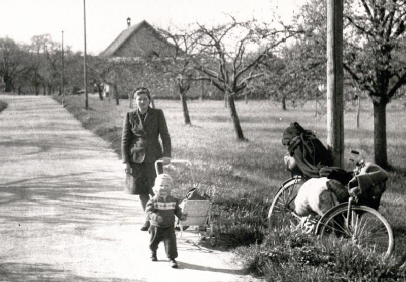 M. Gimbutienė su Danute