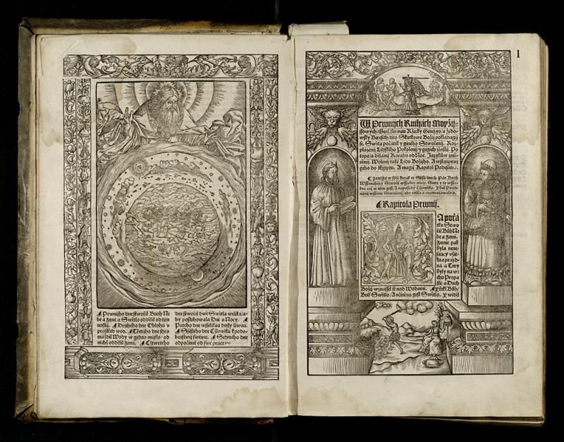Bibli czeski. [Praha: G. Melantrych], 1557.