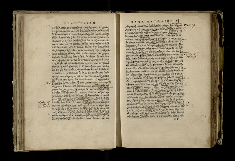 Novum Testamentum Graece. Hagenoae: in aedibus Thomae Anshelmi Badensis, 1521.