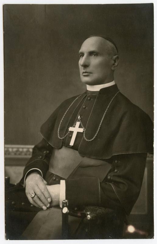 Vyskupo Jurgio Matulevičiaus padėjėjas prelatas Kazimieras Michalkevičius